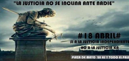 Si no defendemos la justicia, que el último apague la luz.